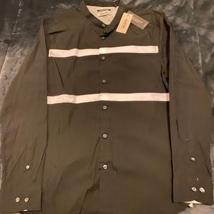 Reaction Kenneth Cole Button Up (No Collar)